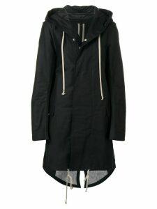 Rick Owens DRKSHDW fishtail parka coat - Black