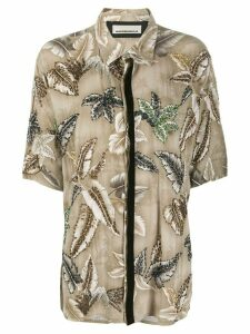Night Market Hawaii short-sleeve shirt - NEUTRALS