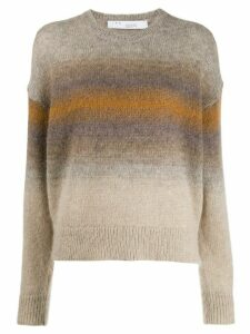 IRO ombré stripes sweater - Neutrals