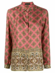 Etro printed loose-fit shirt - Pink