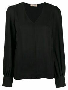 Blanca Vita chiffon voile blouse - Black