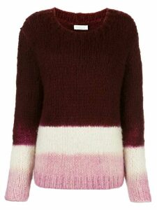 Gabriela Hearst Lawrence cashmere dip-dye jumper - Red