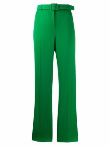 Givenchy belted straight-leg trousers - Green