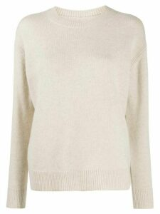 IRO roll neck sweater - NEUTRALS