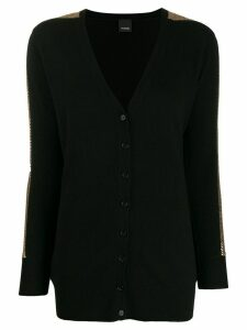 Pinko embellished knit cardigan - Black