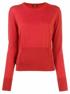 Aspesi Jersei fine knit jumper - ORANGE