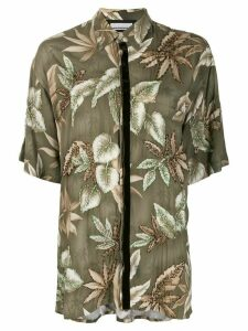 Night Market Hawaii short-sleeve shirt - Green