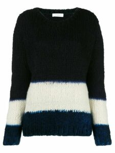 Gabriela Hearst Lawrence cashmere dip-dye sweater - Blue