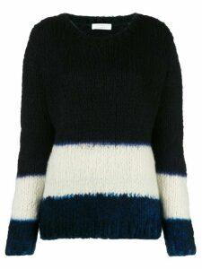 Gabriela Hearst Lawrence cashmere dip-dye sweater - Blue