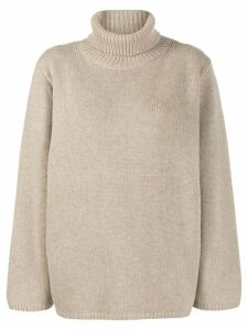 Toteme Cambridge oversized turtleneck jumper - Neutrals