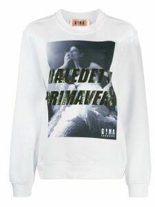 Gina Maledetta Primavera sweatshirt - White