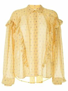 Preen By Thornton Bregazzi floral print blouse - Yellow