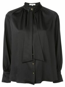 Loveless draped detail blouse - Black