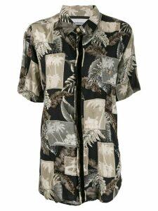 Night Market Hawaii short-sleeve shirt - NEUTRALS