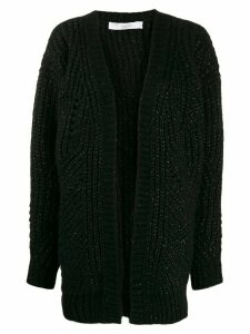 IRO metallic knit cardigan - Black