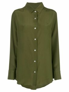 Dresshirt fluid shirt - Green