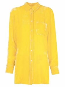 Sies Marjan long sleeve shirt - Yellow