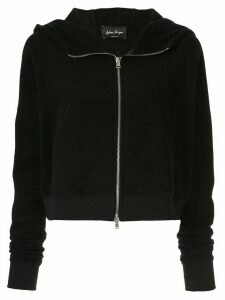 Andrea Ya'aqov zip up hoodie - Black