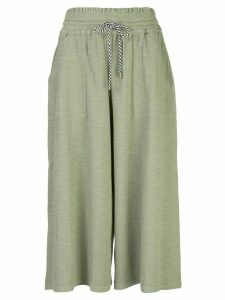 Apiece Apart Galicia cropped trousers - Green