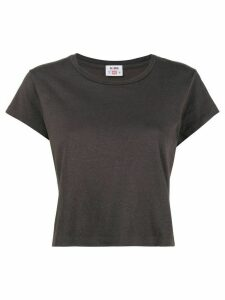 RE/DONE black 1950s Boxy Tee t-shirt - Grey