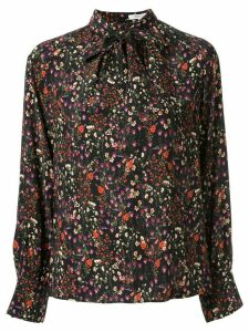 Loveless floral pattern blouse - Black
