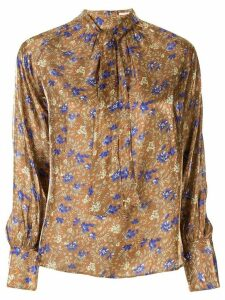 Loveless floral pattern blouse - Brown