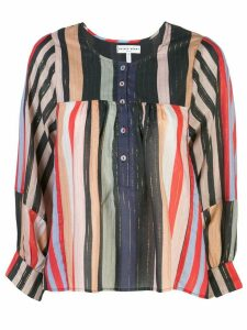 Apiece Apart striped tunic blouse - Multicolour