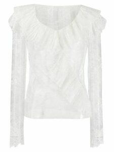 Philosophy Di Lorenzo Serafini ruffled lace blouse - White