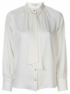 Loveless tied neckline shirt - White