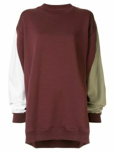 Y/Project winged oversized sweatshirt - Red
