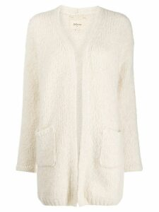 Bellerose open front cardigan. - White