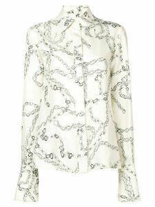 Victoria Beckham '70s collar shirt - White