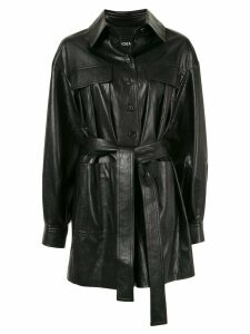 Goen.J Beau shirt jacket - Black