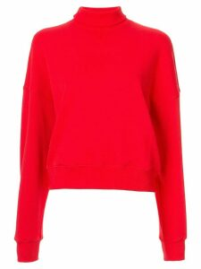 Goen.J dropped shoulder sweatshirt - Red