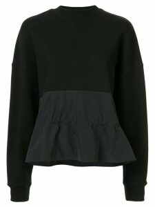 Goen.J drawstring jumper - Black