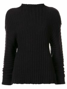 Goen.J chunky knit jumper - Black