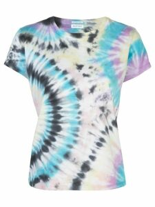Mother Swirling Secrets print T-shirt - Blue