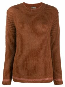 Altea knitted long sleeve jumper - Brown