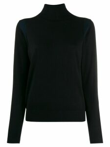PS Paul Smith turtle-neck fitted jumper - Black