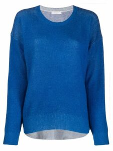 Majestic Filatures relaxed-fit knit jumper - Blue
