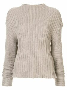 Goen.J chunky knit jumper - Grey