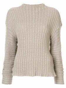Goen.J chunky knit jumper - Grey