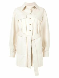 Goen.J Beau shirt jacket - NEUTRALS