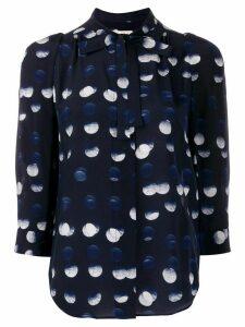Zadig & Voltaire Touch dot print shirt - Blue