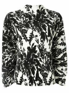 Goen.J balloon sleeve blouse - White