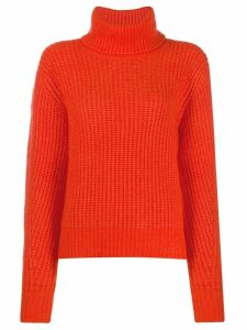 Essentiel Antwerp Toper chunky weave jumper - Orange