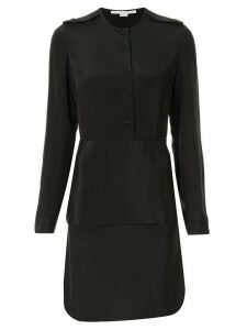 Stella McCartney two-layer shirt dress - Black