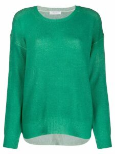 Majestic Filatures relaxed-fit knit jumper - Green