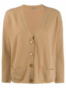 Altea v-neck knit cardigan - NEUTRALS