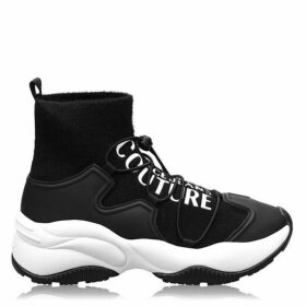 Versace Jeans Couture Basic Logo Sock Trainers